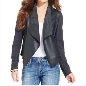 Kut from the Kloth Vegan leather black jacket XL